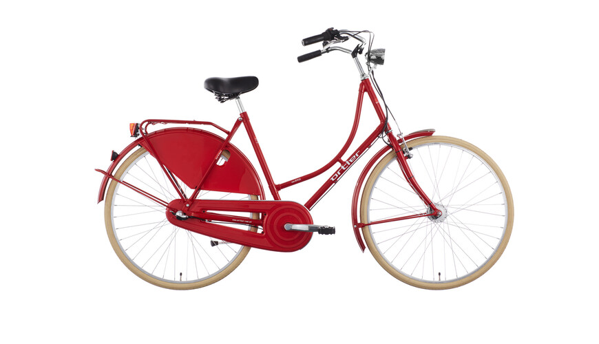 Ortler Van Dyck Hollandcykel Candy Red
